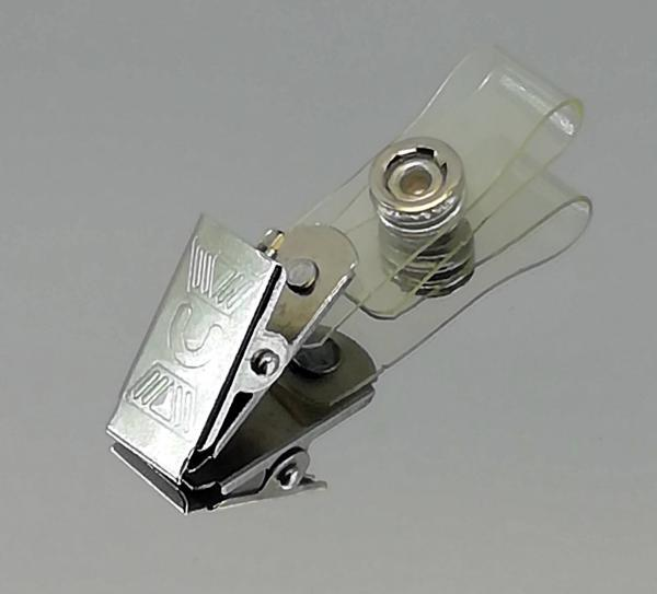 metal maşalı yaka kart klipsi